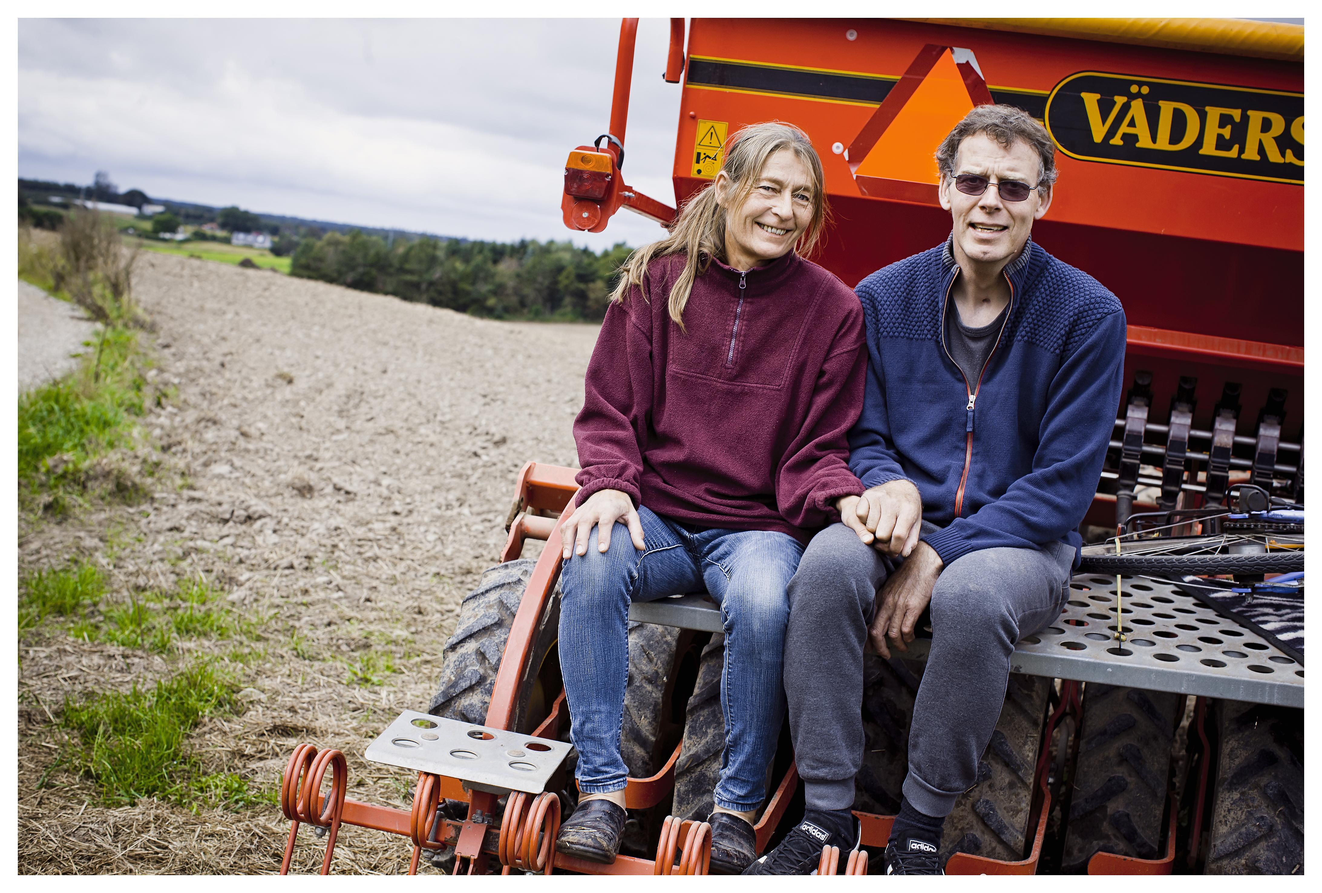 Carsten og Gitte ar formået at bevare kærligheden, selvom Gitte til tider har været frustreret, og det har været hårdt.