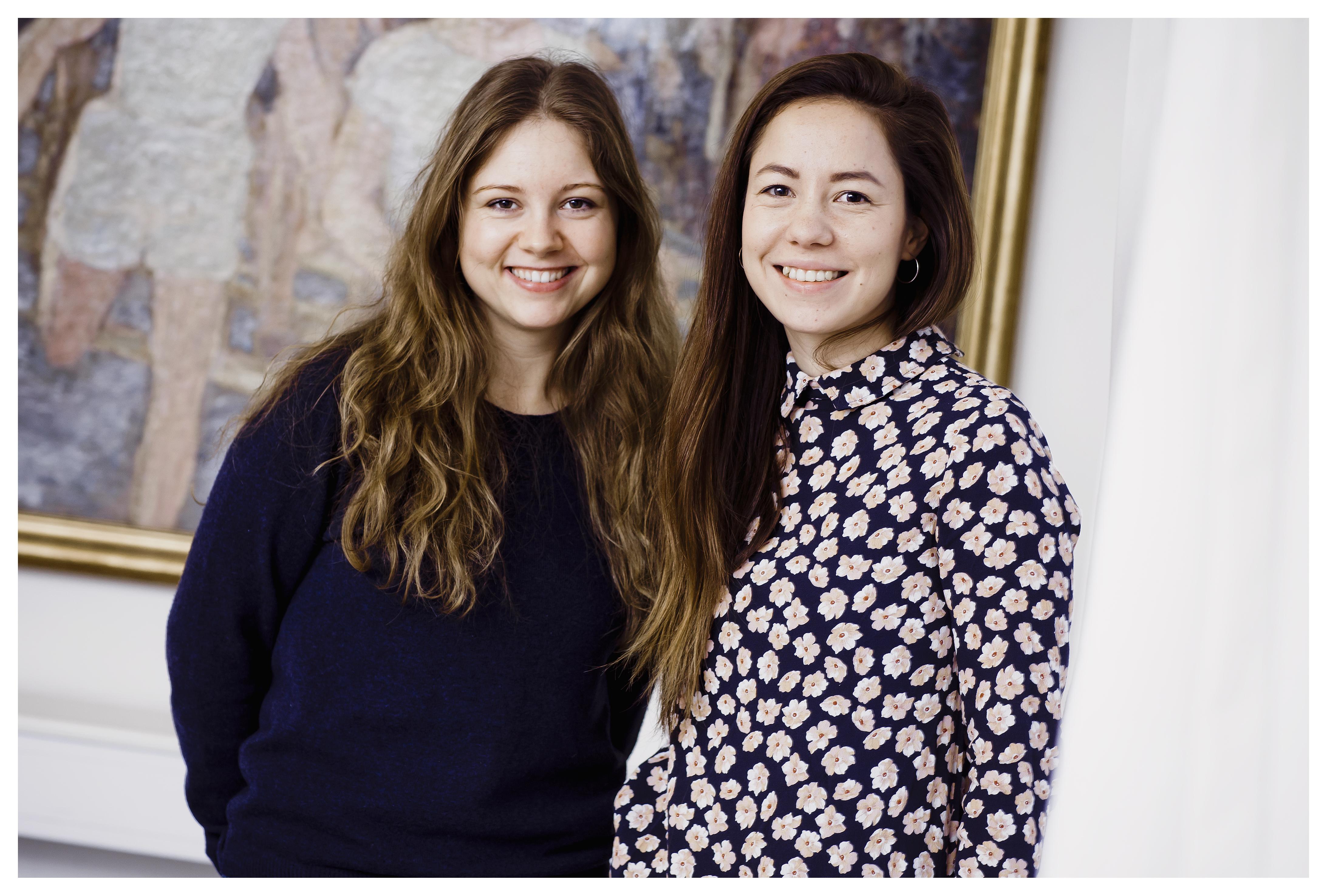 Ergoterapeuterne Sofie Tran og Louise Dehli står for CST-forløbene, og de oplever, at metoden øger borgernes livskvalitet.