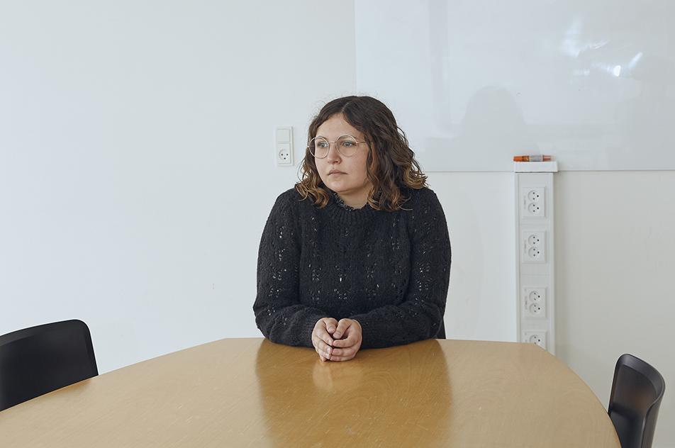 — Jeg er en ung kvinde, der har lyst til kombinationen af selvudvikling og muligheden for at få indflydelse på min arbejdsplads, konstaterer Mia Hansen.