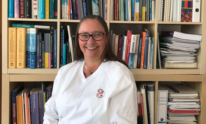 Ergoterapeut Kirsten Pedersen er gradvist begyndt at åbne op for patienter i sin private praksis, men det hverken er eller har været problemfrit at være privatpraktiserende ergoterapeut i corona-tider.
