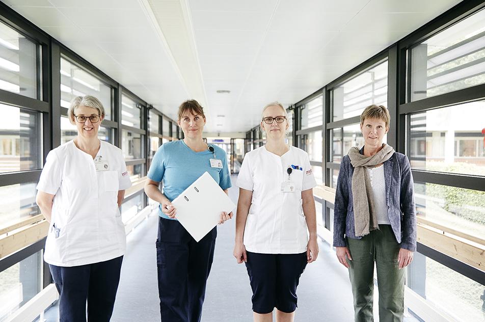 Udviklingsterapeut Malene Riis Sørensen har sammen med ergoterapeuterne Lillian Noe og Claudia Skovsted samt neuropsykolog Berith Bredil Frederiksen arbejdet med redskabet OCS i et år..