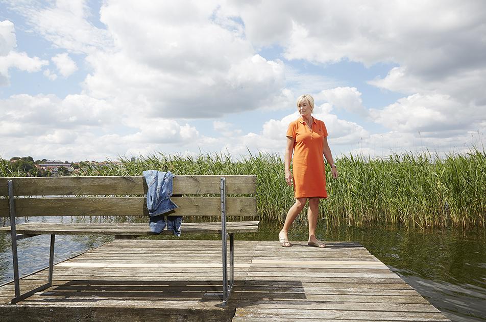 — Jeg havde altid været glad for at gå på arbejde, og da jeg ikke var det længere, vidste jeg, at der skulle ske noget nyt, fortæller Eva Bastrup, der skiftede skønhedsbranchen ud med ergoterapeutuddannelsen.