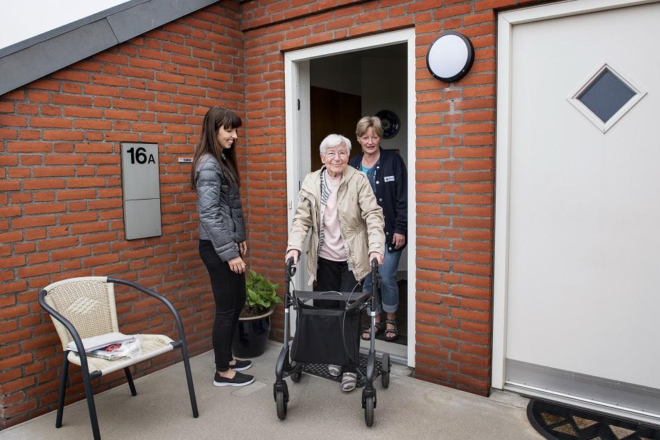 Det er vigtigt for Grethe Hansen at kunne gå på gaden og selv købe ind.