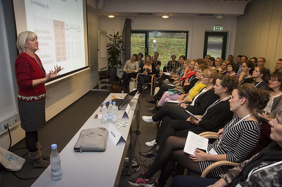 Eva Wæhrens, lektor fra SDU, opfordrede til at bruge tiden på kerneopgaverne.