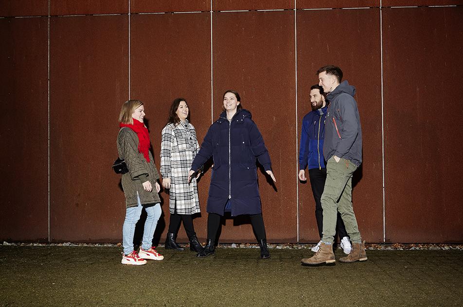 Studerende på ergoterapeutuddannelsen i Aarhus har etableret en mentorordning for alle nye studerende for at forebygge mistrivsel.