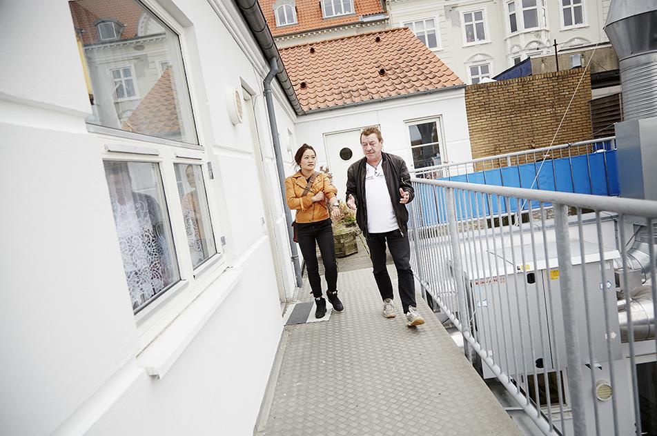 Bent Andersen kommer fast hos Kirkens Korshær i Horsens. Hvis han ikke dukker op en dag, ringer personalet efter ergoterapeut Tanh-Ha Høggaard.